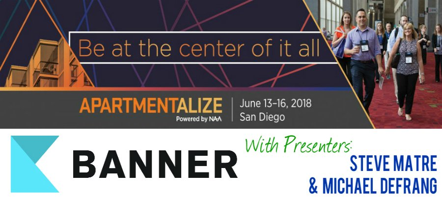 NAA Apartmentalize - Brought to you by BANNER!