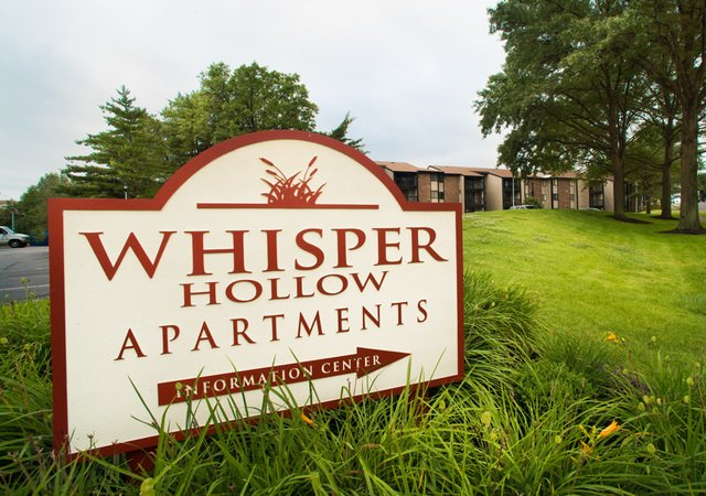 Whisper Hollow Apartments - Information Center Sign