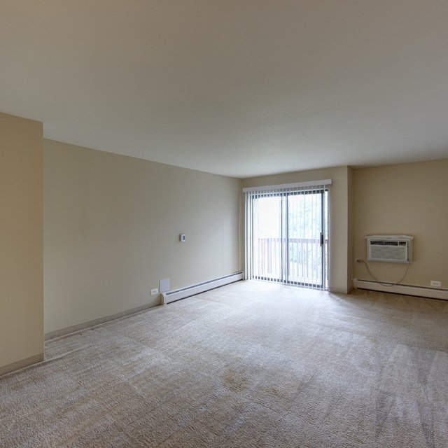 Rosewood Apartments - Empty Bedroom