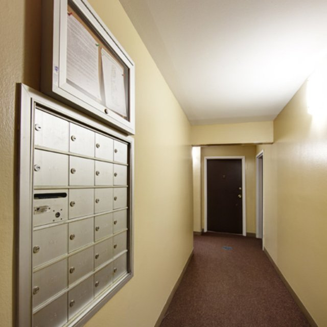 Rosewood Apartments - Convenient Letter Receiving Area