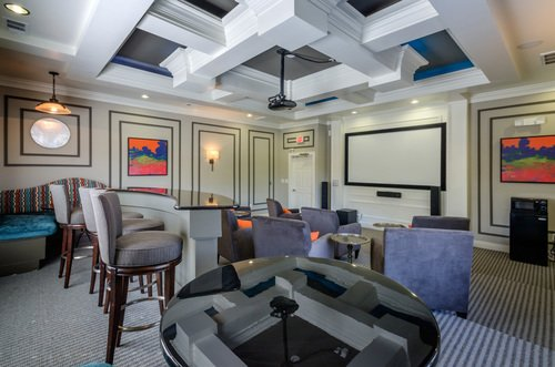 Tradition at Stonewater Apartments - Theater Room