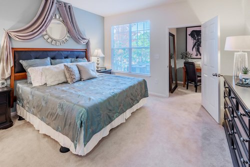 Tradition at Stonewater Apartments - Master Bedroom
