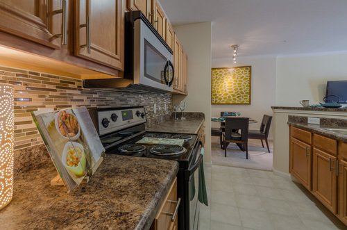 Tradition at Stonewater Apartments - Kitchen with Marble Countertop