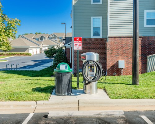 Tradition at Stonewater Apartments - Electric Car Charging Station